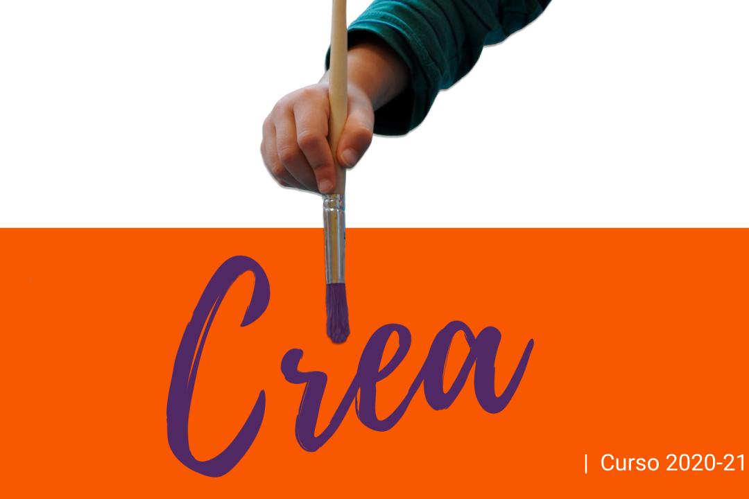 Cartel Lema curso 2020-21: Crea