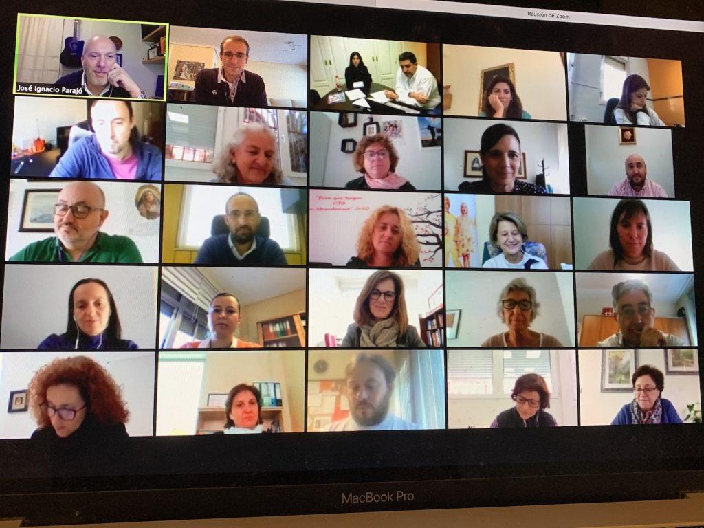 Reunión online de los directores de Jesuitinas