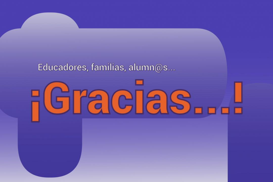 Portada video Gracias Educadores