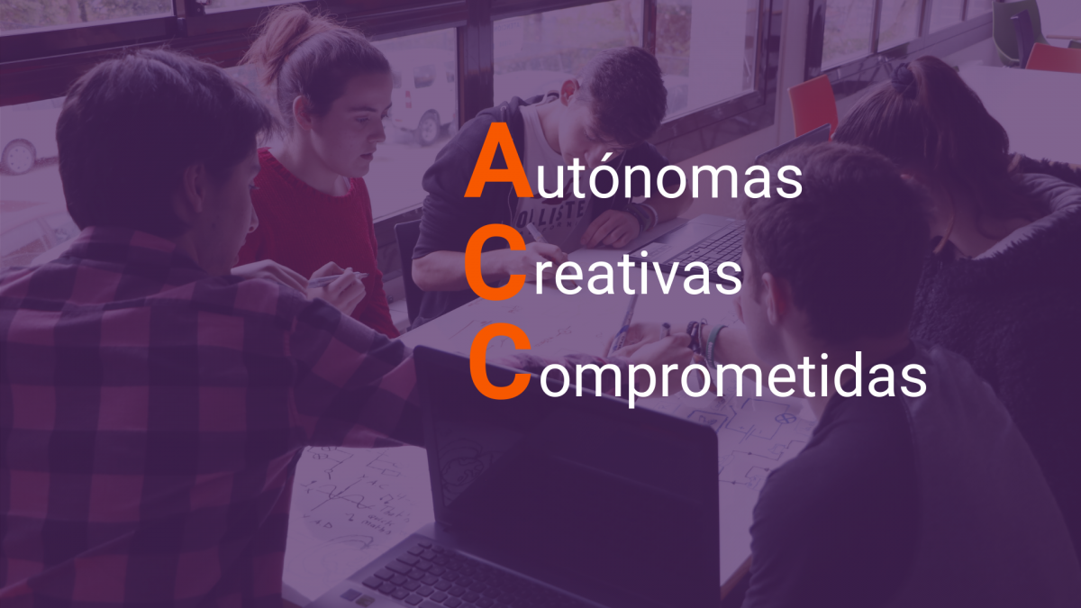 Personas autónomas, creativas y comprometidas